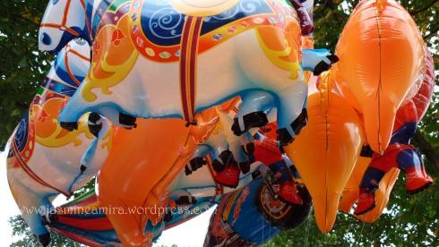 balon binatang