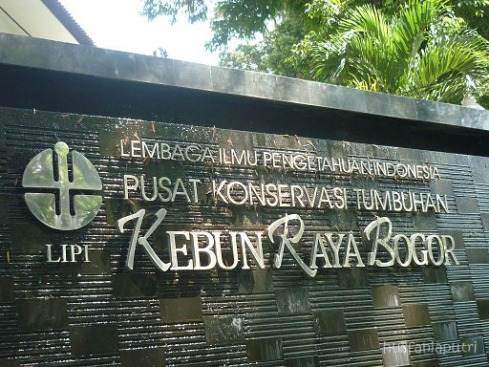 welcome to Bogor Botanical Garden