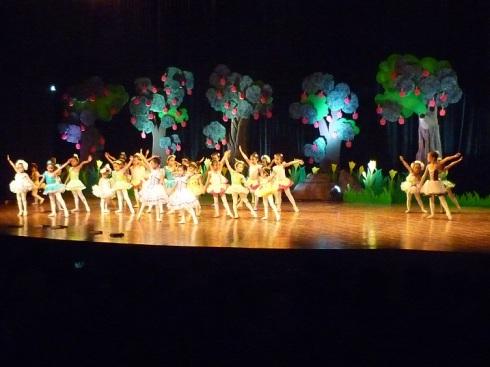 all ballerinas
